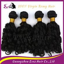 Wholesale AAAAA top quality virgin brazilian spring curl hair