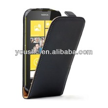PU Leather flip mobile phone case cover pouch for Nokia lumia 520