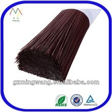 Brown PBT Hard Bristle Hair Brush