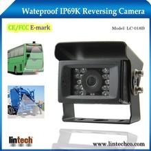Factory price waterproof IP69K car rear view camera for motor caravan