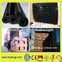 soft plastic foam insulation pipe/rubber foam pipe insulation/rubber foam hair roller