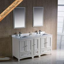 Modern bathroom vanity cabinet floor mount-mounted metal bathroom vanity base