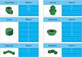 Caliente la venta de todos los tipos de plástico ppr accesoriosdetubería macho/hembra adaptador