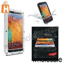 LOVE MEI Metal Waterproof Case Cover for Samsung Galaxy Note 3 N9005 N9000