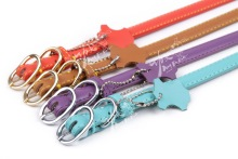 large assortment elegant and economical Kung Fu Dog brand pure skin pet dog collar fashionable pet lead dog leash