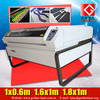 Flatbed / Two Heads CO2 Laser Fabric Cutting Machine with CE