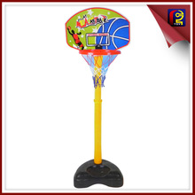 kid plastic basketball board with 12cm basketball QZH177221