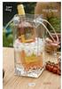2015 newest PVC cooler ice bag for wine, wine bottle gel cooler bag
