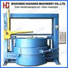 Oil heating segmented tire retreading machine line
