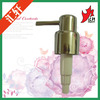 wholesale top quality metal lotion pump gold 28/400