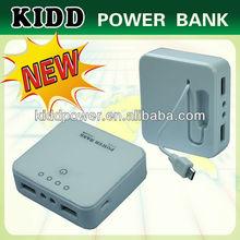Portable 5200mAh mobile power bank show in 2014 hk lectronics fair