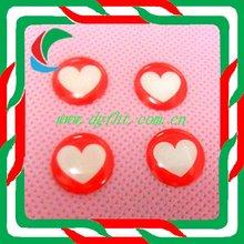 customized high quality epoxy sticker clear epoxy dot