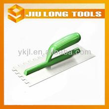 ABS handle plastic polish blade plastering trowel cement finishing trowel finish plaster