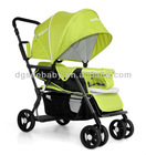 T12 brothers two seats baby carriage pram pushchair twin baby stroller
