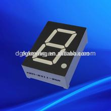 Cheap 0.8 inch orange/amber led display 7 segment single digit