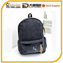 new designer 2014 classic canvas europe style school bag/students trendy school bags