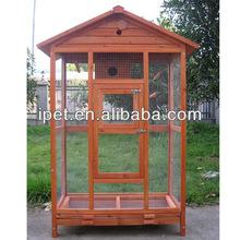 Wooden ornamental cages bird with run AV067