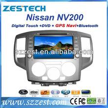 Zestech car dvd gps navigator am fm rds tv ipod for Nissan NV200