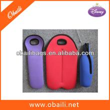 Neoprene wine bag,neoprene bottle bag,neoprene bottle wine tote bags