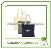 Reusable cotton bag for shopping factory