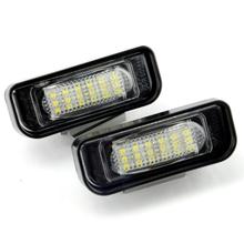 led license light for Benz W220, 12v led license plate bulbs,canbus mercedes led license plate lamp