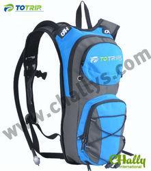 Sport helmet pocket bicycle water backpack