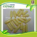 Naranja y blanco de la cápsula de la cáscara vacía de GMP cápsulas de gelatina cápsula vacía
