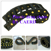light duty flexible engineering plastic cable chain 10*20mm export to Canda