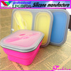 silicone lunch box with FDA,LFGB certification