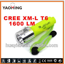 Made in china double sided led fishing flashlight with white and blue light,diving light YM-3027
