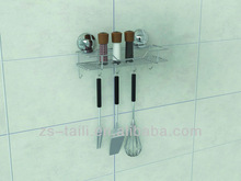 kitchenware Suction cup storage rack with 5 hooks