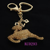 Plush Sika Deer Live Animal Keychain Promotional