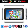 Super Slim Tablet 7 inch rockchip tablet pc with HDMI RK3126 Cortex A9 Dual core 0.3MP/0.3MP Full 1080P Android 4.2