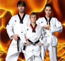 White custom itf taekwondo uniform
