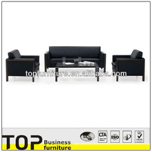 Genuine leather wooden used leather sofa furniture for heavy people