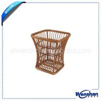 handmade wicker cat basket