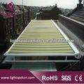 Alumínio toldo retrátil awning\aluminum pergola\cheap impermeável pergola\glass toldos e coberturas