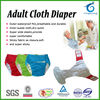 Happyflute breathable adult cloth diaper,soft adult diaper,washable