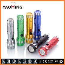 14 leds flashlight luminaria solar torch 9800 baixar flash player YAOMING Brand LED Flashlight Made in China YM-814F