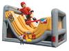 skateboard boy inflatable slide W4050