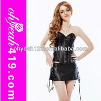 Hot girls sexy lingerie corset 2014 gothic corset top lingerie