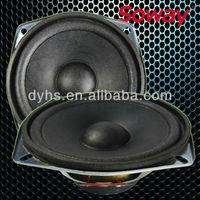 YD120-60F 120mm 5 watt 4ohm Foam Edge Convex dust cap loudspeaker