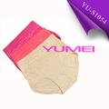 boa qualidade de algodão calcinha de cintura alta para mulheres gordas