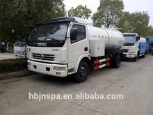 facture sale 5000L sewage suction tanker truck