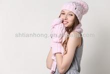 winter custom knitted hat/ gloves