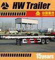 Nuevo bajo la cama semi remolque, remolque de camión para equipos de contenedores de transporte del coche hecho en china