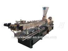 CE TSE-65B pe+carbon black plastic mini granulator lab twin screw extruder machine sale