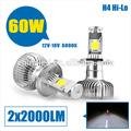 High / Low faisceau KIT 12 V ~ 24 V 5000 K 2000LM 12 V voiture LED phare H4