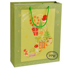 2014 High Quality Kraft paper bag Mcdonald food package design