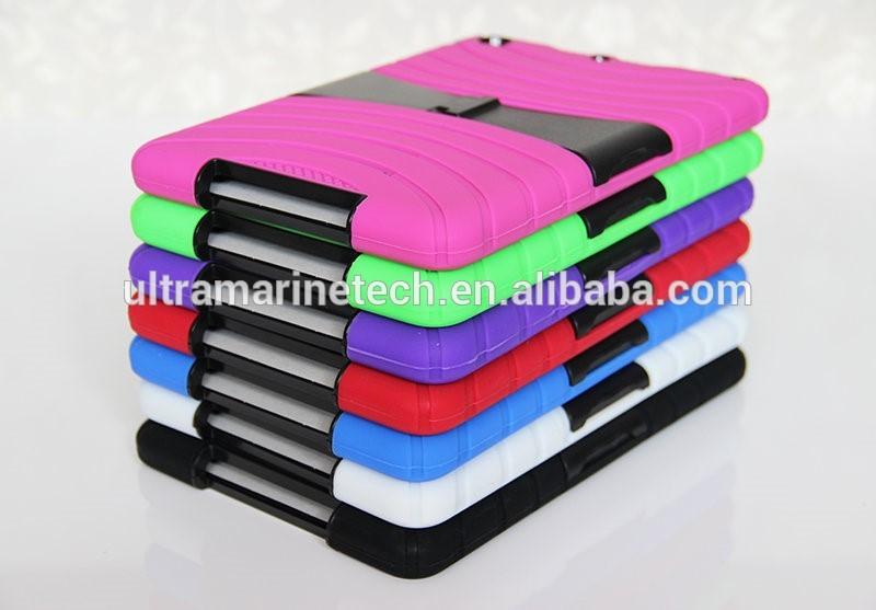combo stand case for ipad mini 2/3,for ipad mini shockproof case